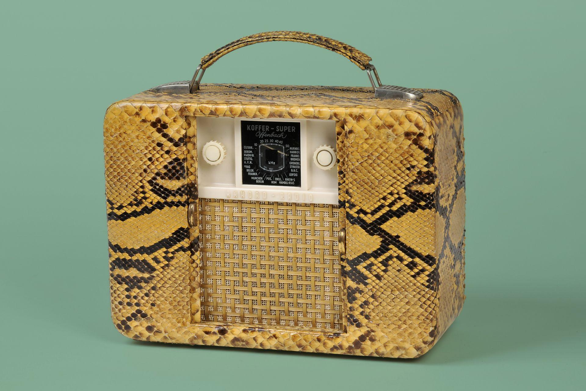 Portable radio Offenbach, Offenbach/Main, 1951