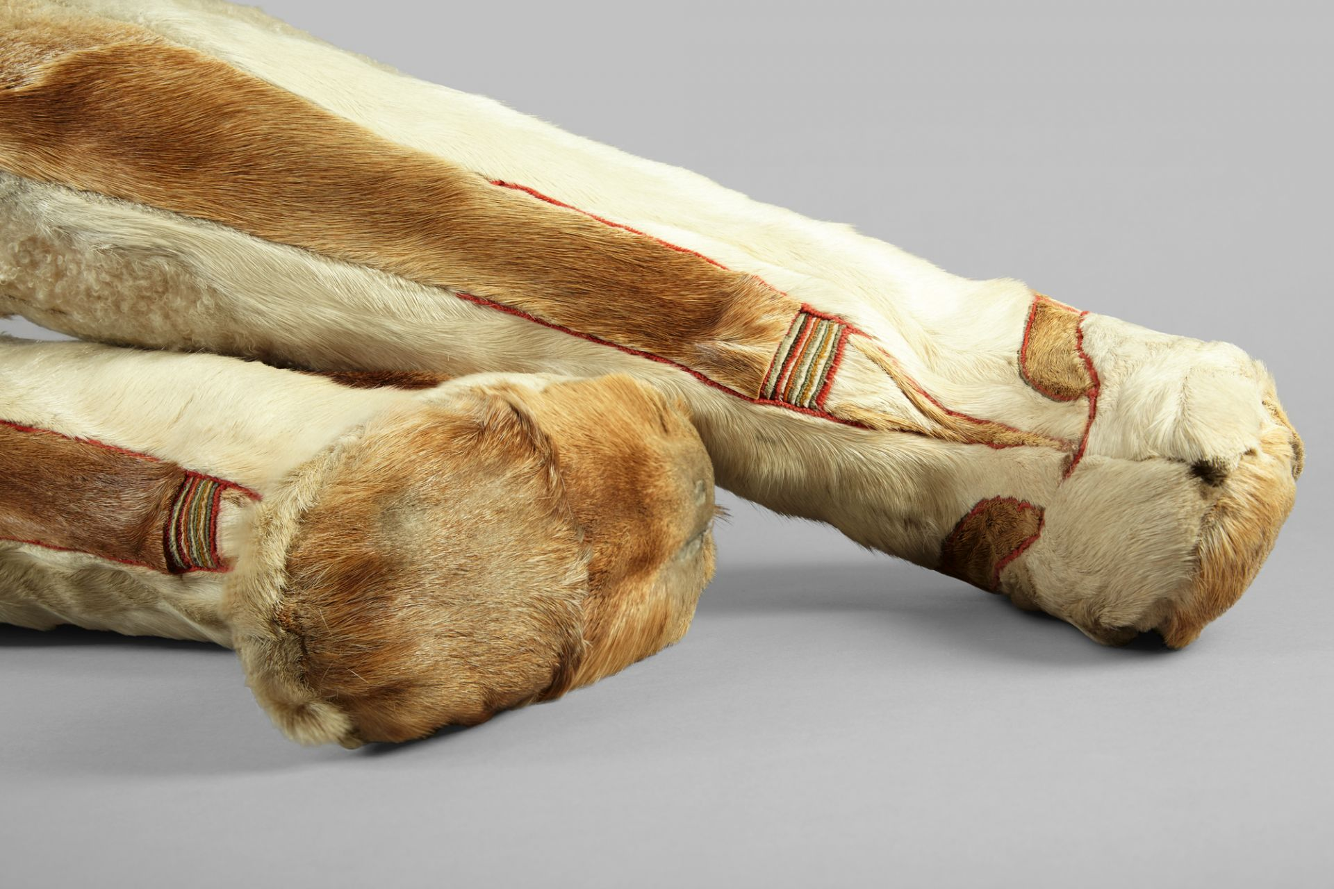 Long shaft boots, Siberia, early 20th century