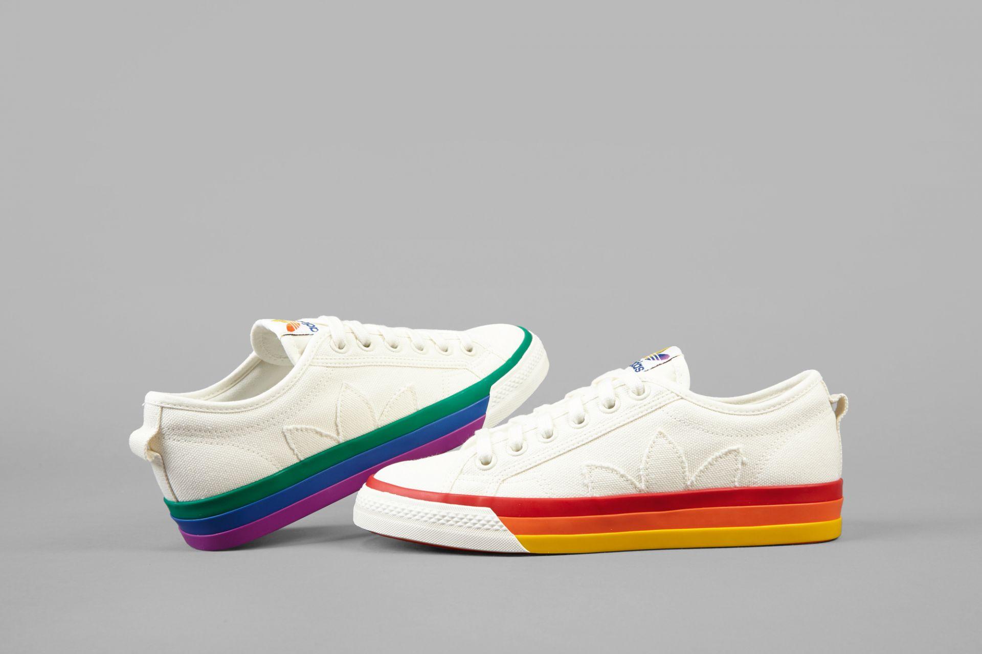 Sneaker, Nizza Pride, adidas, Herzogenaurach, 2019