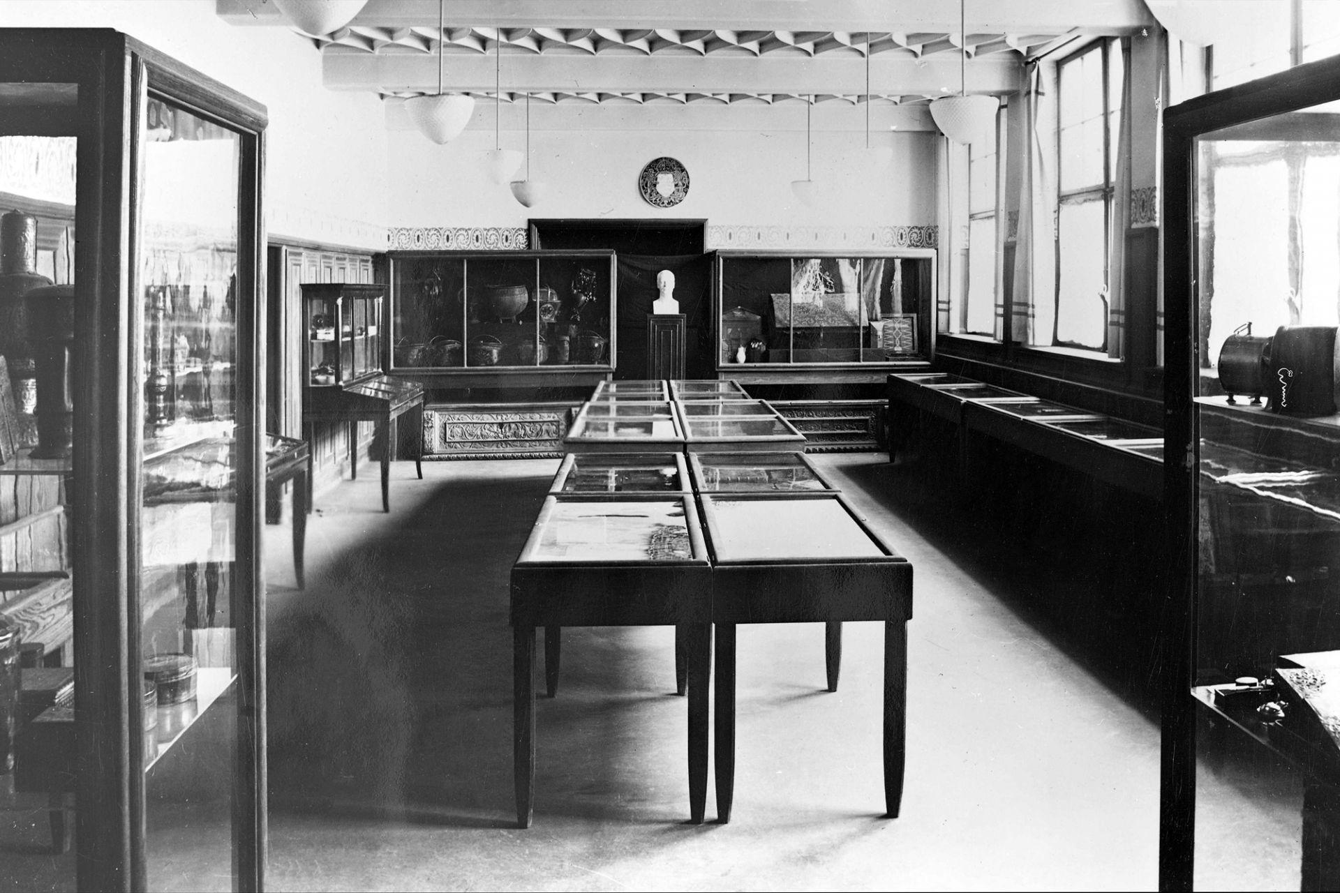 The German Leather Museum in the Technischen Lehranstalten, 1917