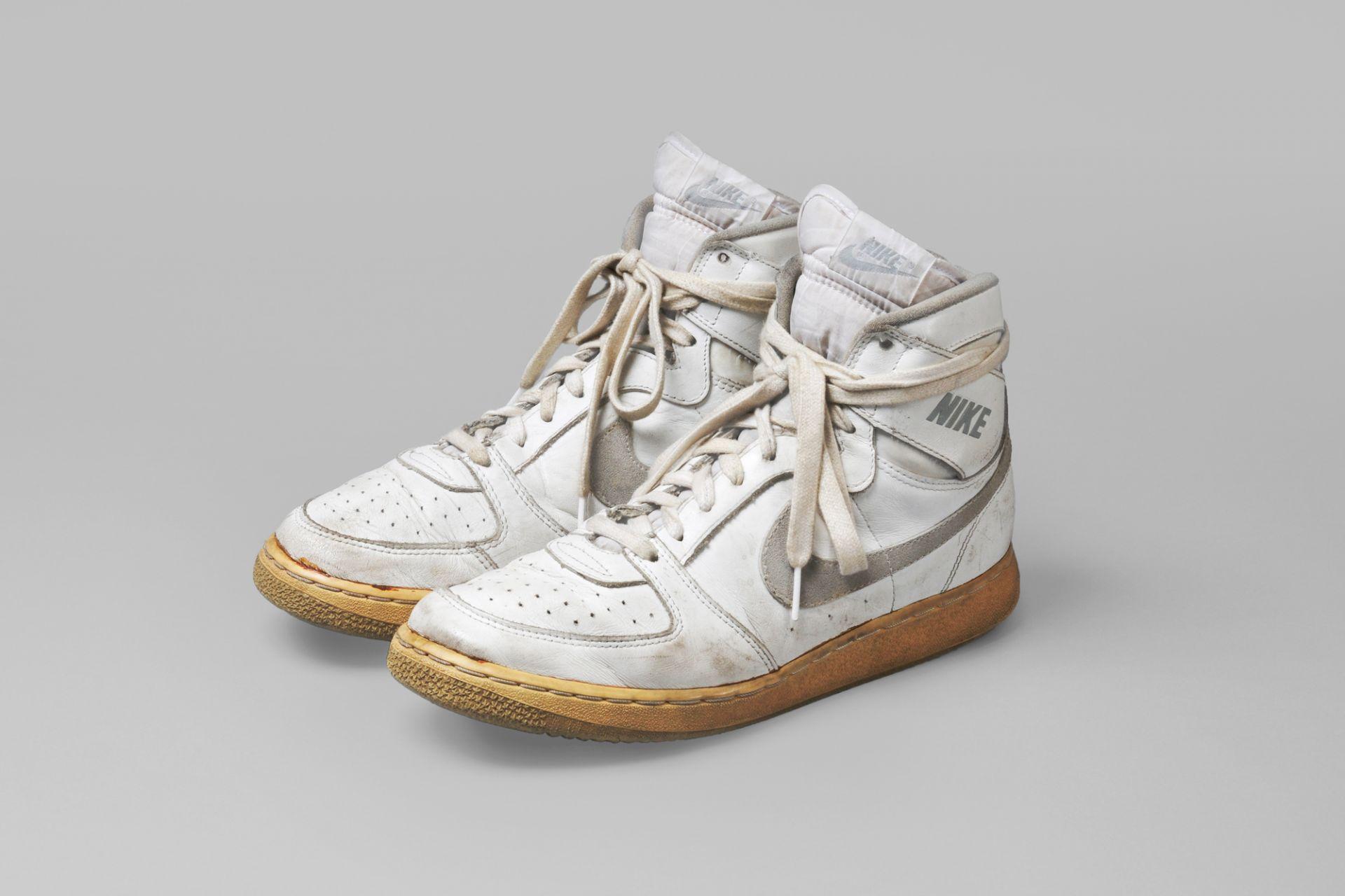 Joschka Fischer's sneakers, Nike, Germany, 1985