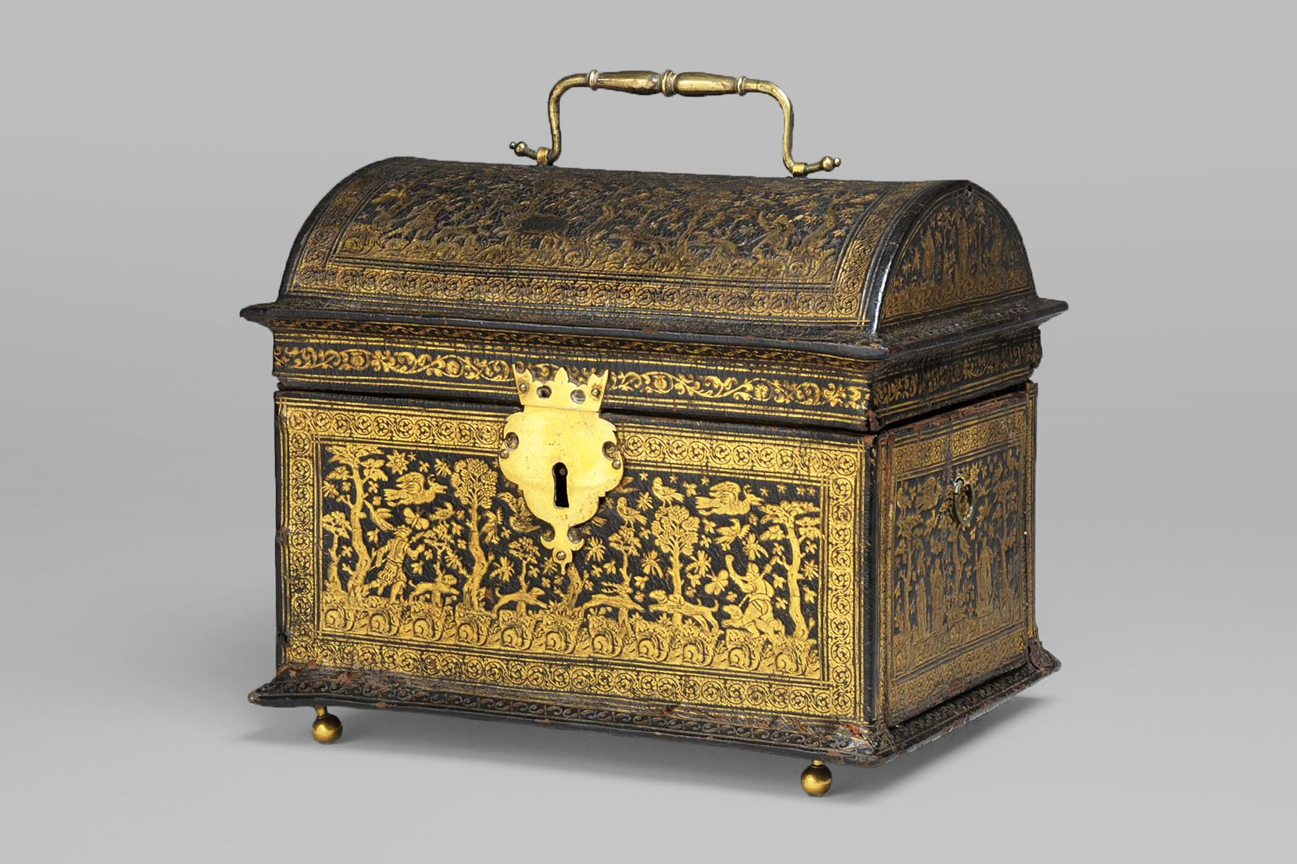 Marriage chest, Flanders, late 16th century