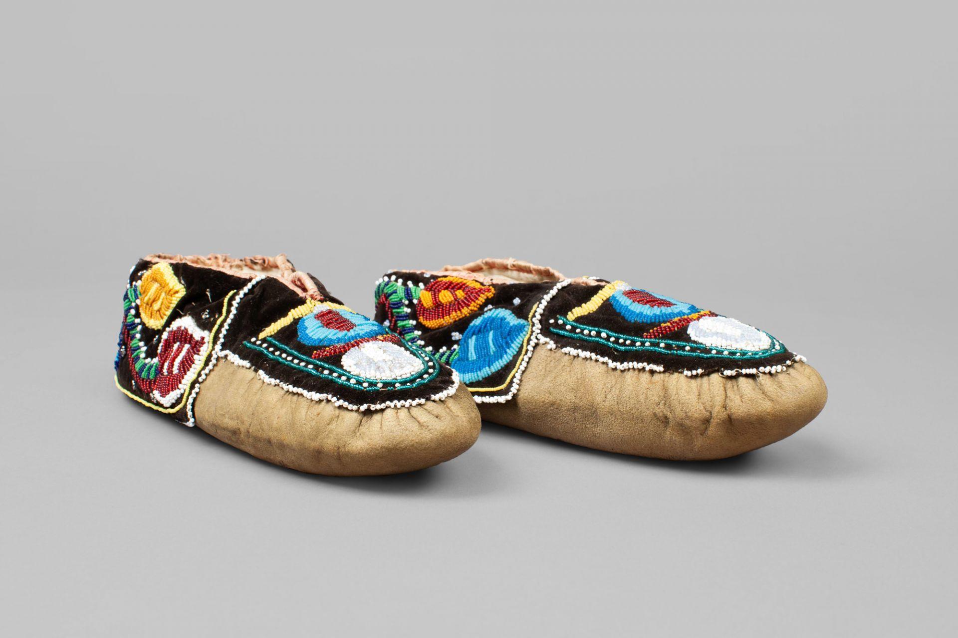 Moccasins, North America, 19th/20th century