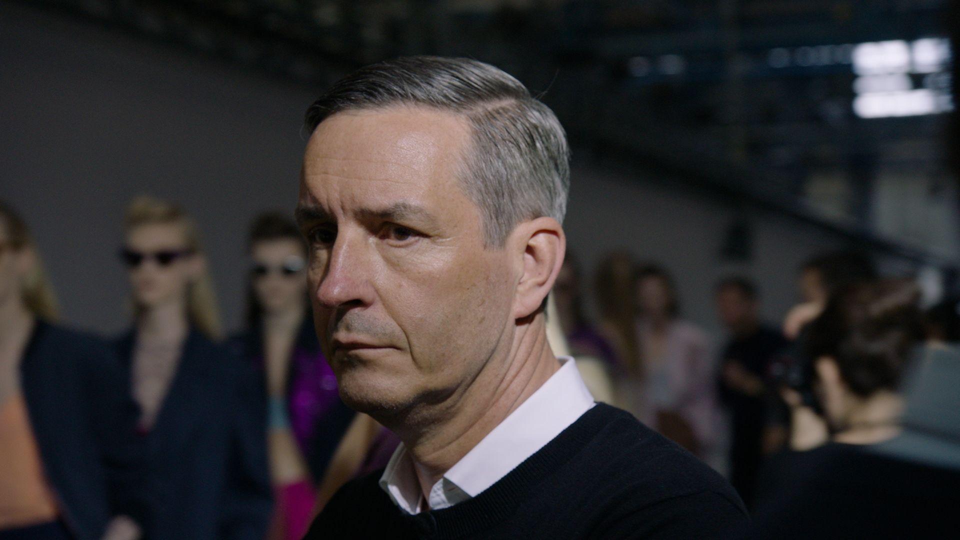 Filmausschnitt DRIES mit Modedesigner Dries Van Noten © Reiner Holzemer Film
