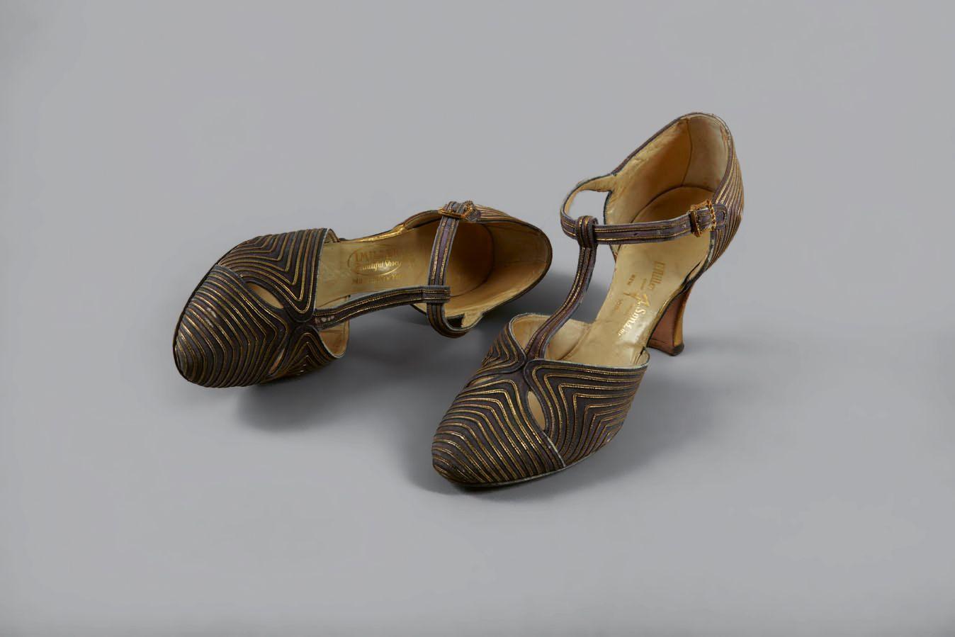 Stegspangenpumps, I. Miller, New York, USA, 1920–1930 © DLM, M. Özkilinc
